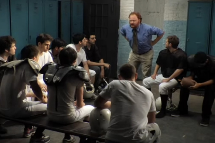 See inside the Rival Team From Every High School Sports Movie's locker room in this classic College Humor sketch