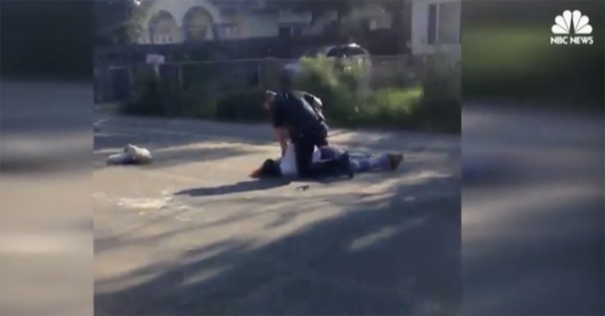Sacramento officer caught on video slamming a man to the ground and beating him will be investigated