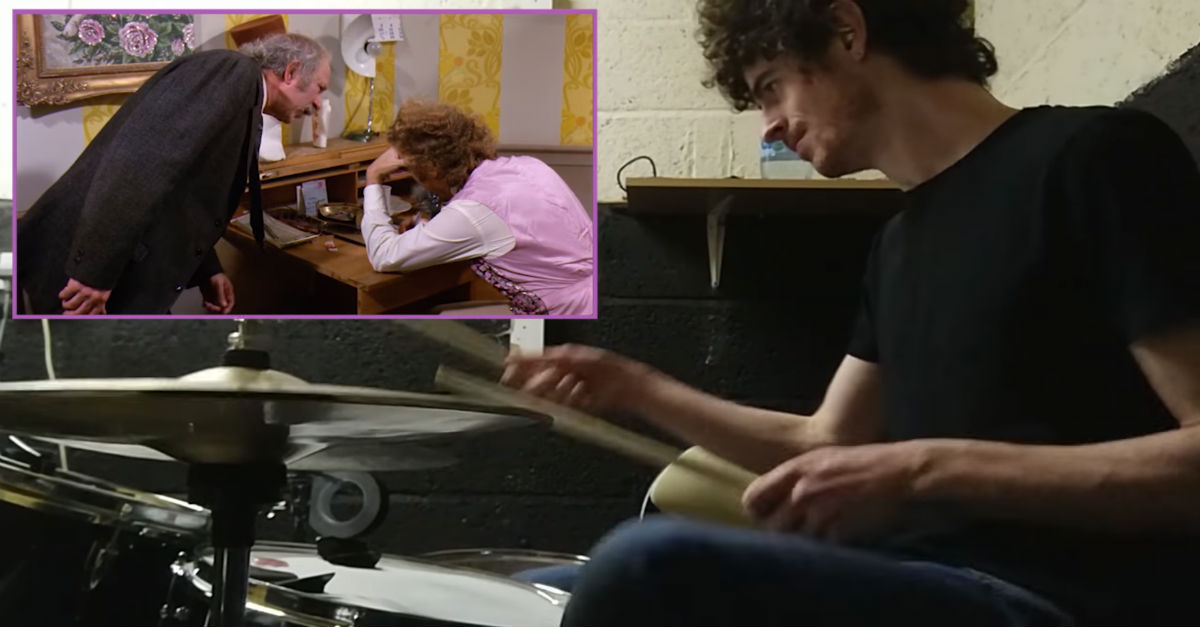 """This Irish musician played drums over a famous """"Willy Wonka"""" scene, and it's perfect"""