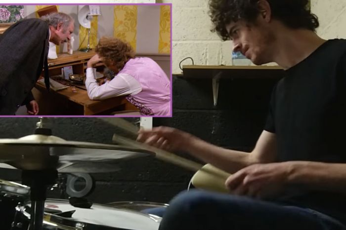 "This Irish musician played drums over a famous ""Willy Wonka"" scene, and it's perfect"