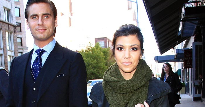 It looks like Kourtney Kardashian has a new man in her life, and Scott Disick isn't too pleased