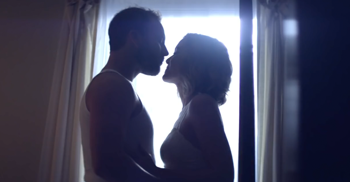 This country star enlists his wife for the sexiest video we've seen in some time