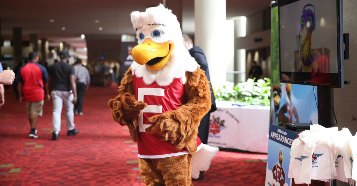 Meet Eddie the Eagle, the NRA's mascot who teaches kids about gun safety in a creative way