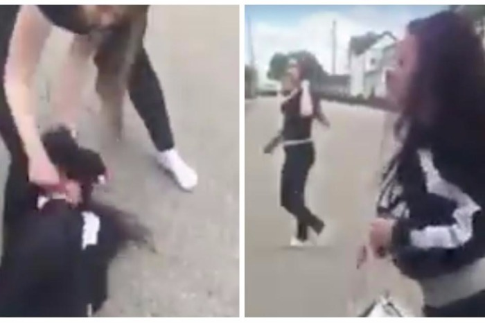"""""""Cash Me Ousside"""" girl got lit up in a street fight, and we can't look away — or did she?"""