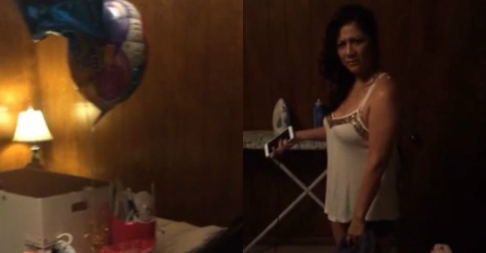 "A scorned boyfriend delivered a birthday ""surprise"" after finding out his girlfriend was cheating on him"