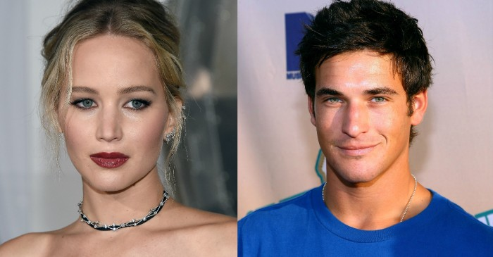 "Jennifer Lawrence is reportedly ""heartbroken"" after hearing of the tragic suicide of friend Clay Adler"