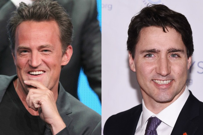 Matthew Perry had the funniest response to Justin Trudeau's offer for a rematch of their playground brawl