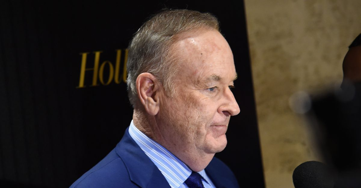Bill O'Reilly has a massive persecution complex