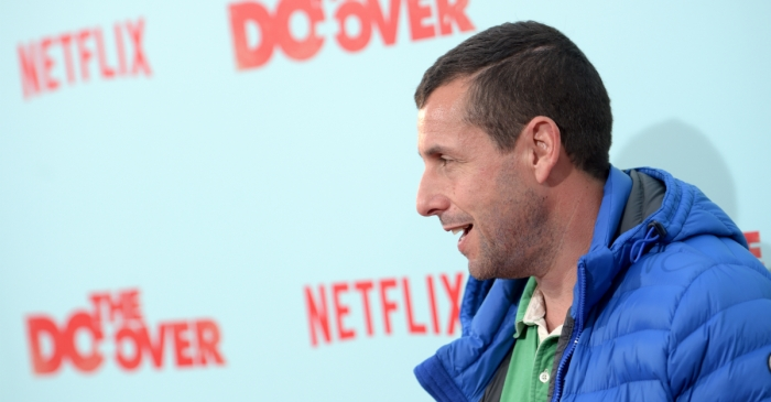 The amount of time people have spent watching Adam Sandler movies on Netflix is completely insane