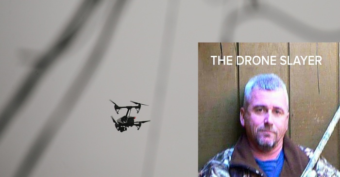A man who shot down a drone flying over his property and was sued just got the last laugh