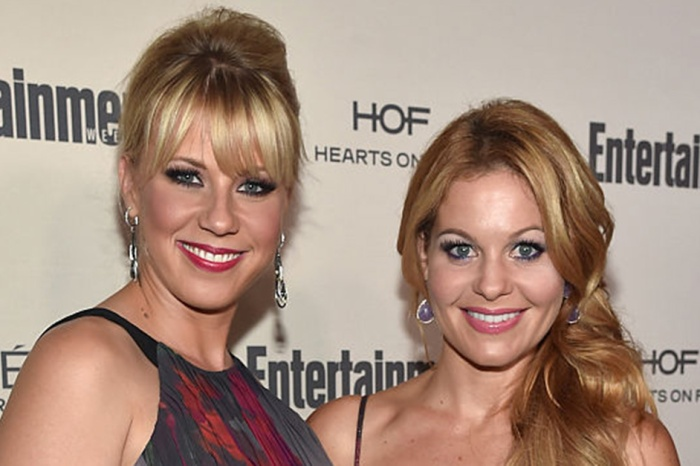 Candace Cameron Bure shares an update on co-star Jodie Sweetin after her tumultuous split from her ex-fiance