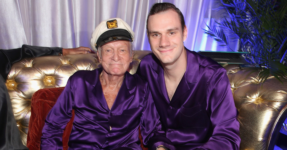Hugh Hefner's son, Cooper gives fans an update on the health of the 90-year-old Playboy mogul