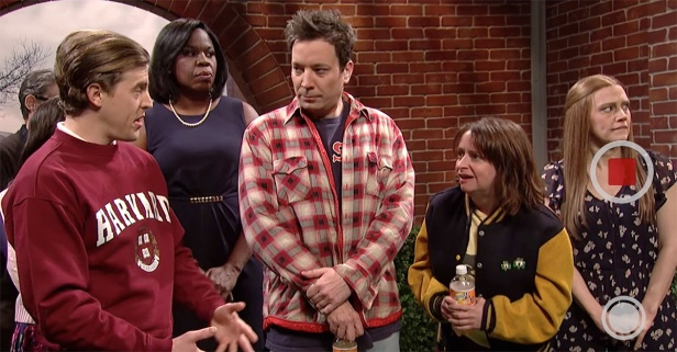 "Harvard isn't prepared for ""SNL's"" favorite Boston couple, Sully and Denise"