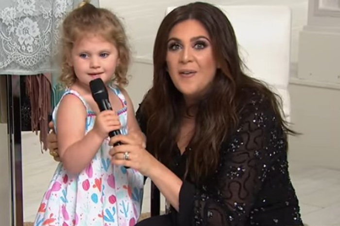Lady A's Hillary Scott's daughter steals the spotlight on live TV