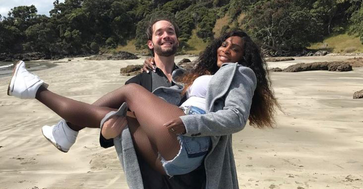 Serena Williams just shocked fans with this announcement about her growing family with fiance Alexis Ohanian