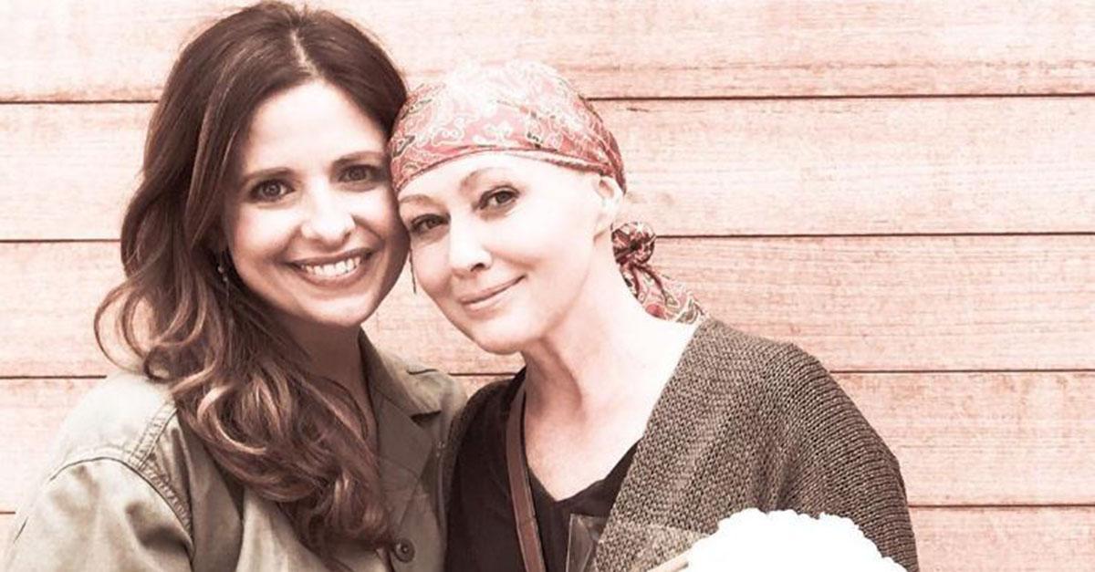 Shannen Doherty praises her best friend Sarah Michelle Gellar in a emotional Instagram post