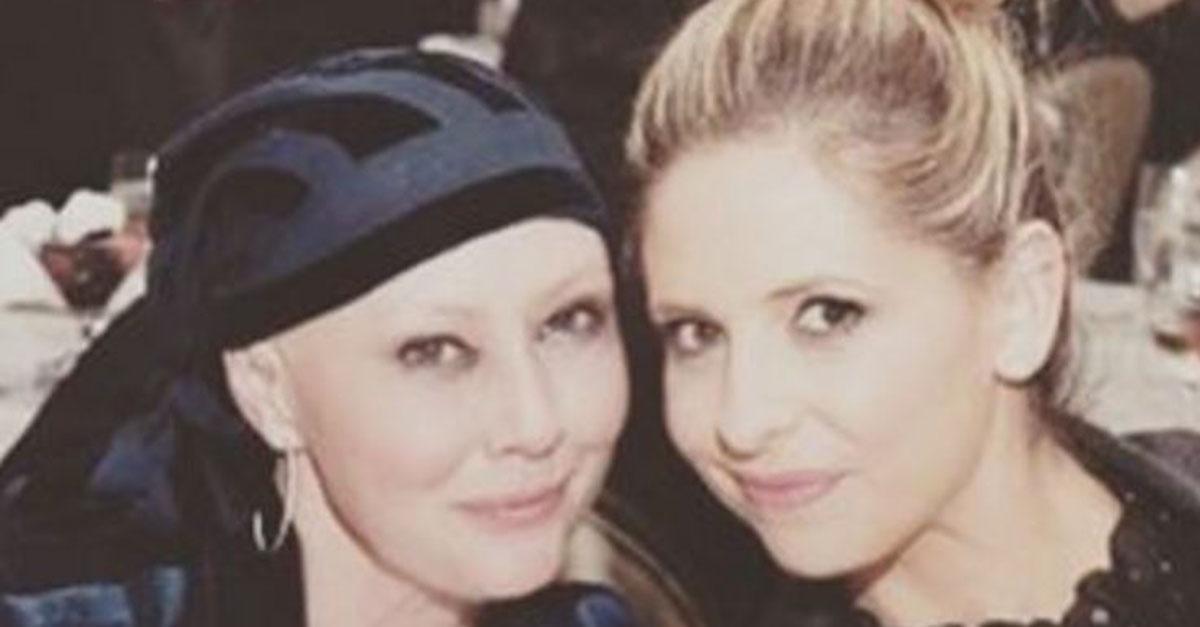 Sarah Michelle Gellar shares an update on her best friend Shannen Doherty's ongoing cancer battle