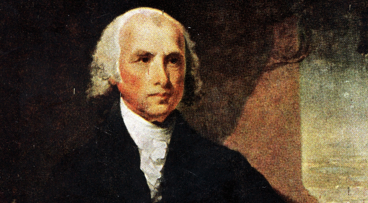 A Rare look at the U.S. Presidents: James Madison