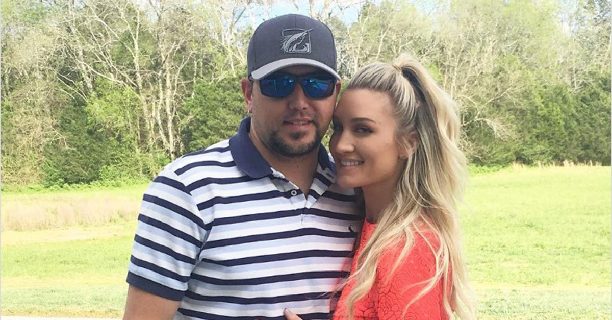 Looks like Jason Aldean and wife Brittany had a fun-filled holiday weekend