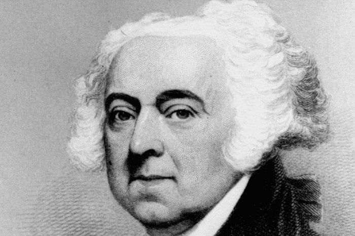 A Rare look at the U.S. Presidents: John Adams