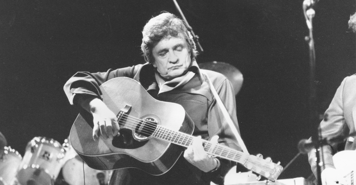 We've lost the man who stood beside Johnny Cash onstage for nearly 30 years