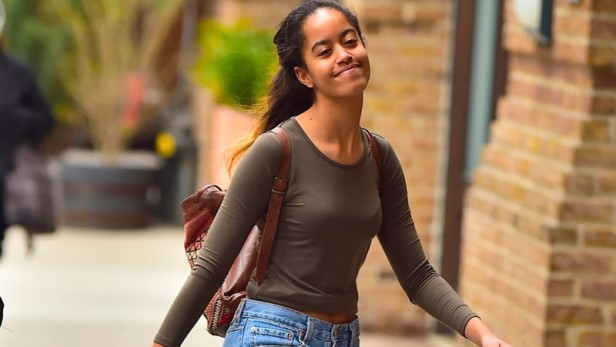 Malia Obama apparently lost her cell phone this weekend at Lollapalooza