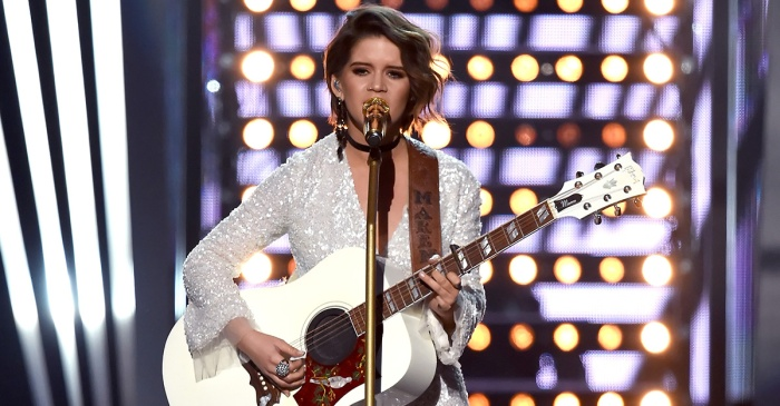 Watch Maren Morris turn out a powerful ACM Awards performance with this ballad
