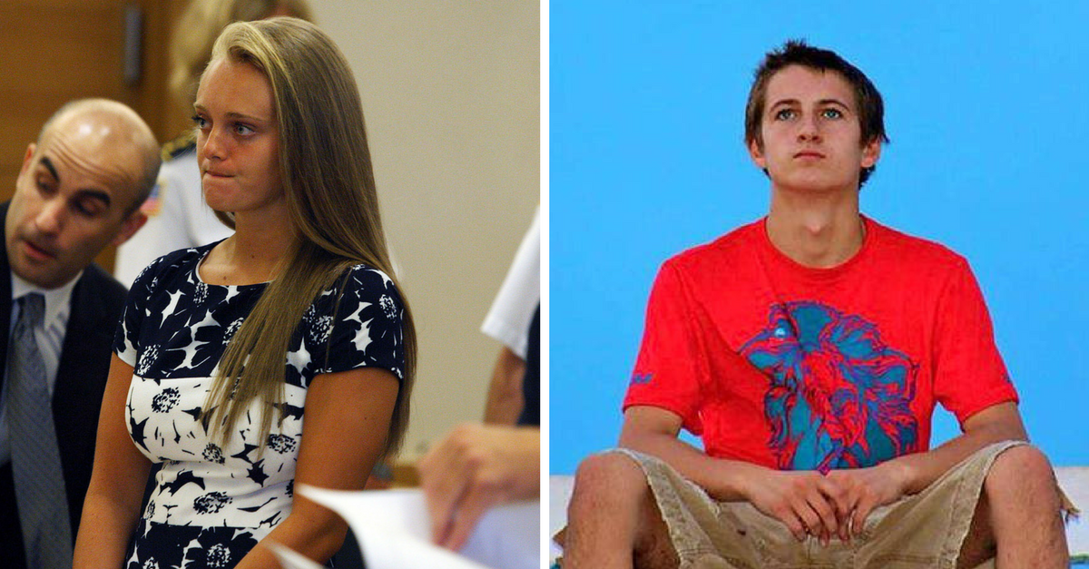 A girl who encouraged her boyfriend to kill himself is hoping an outrageous defense will work in court