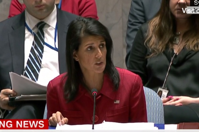 """After the strike in Syria, Amb. Nikki Haley spoke at the UN and warned that the U.S. is """"prepared to do more"""""""