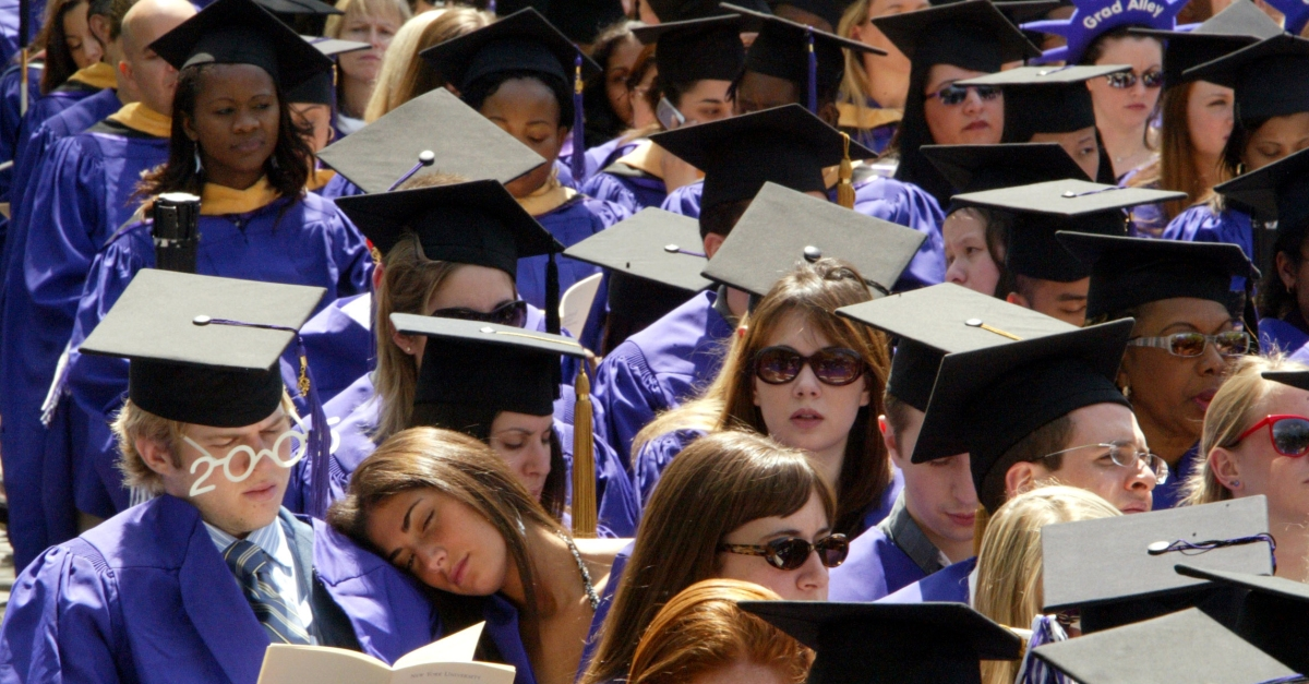 These big colleges produce the most students who graduate on time