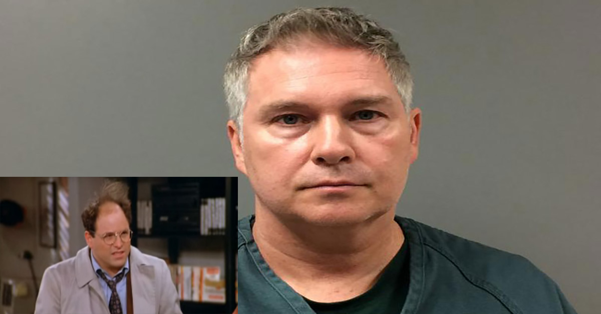 """In a scene straight out of """"Seinfeld,"""" Newman has been arrested in """"Operation Vandelay Industries"""""""