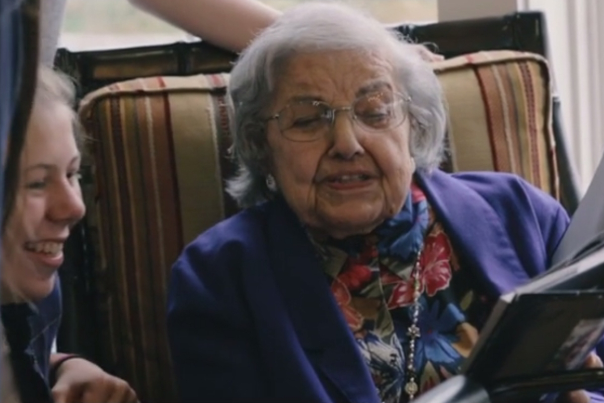 The importance of storytelling: 101-year-old woman reflects on a lifetime of tales