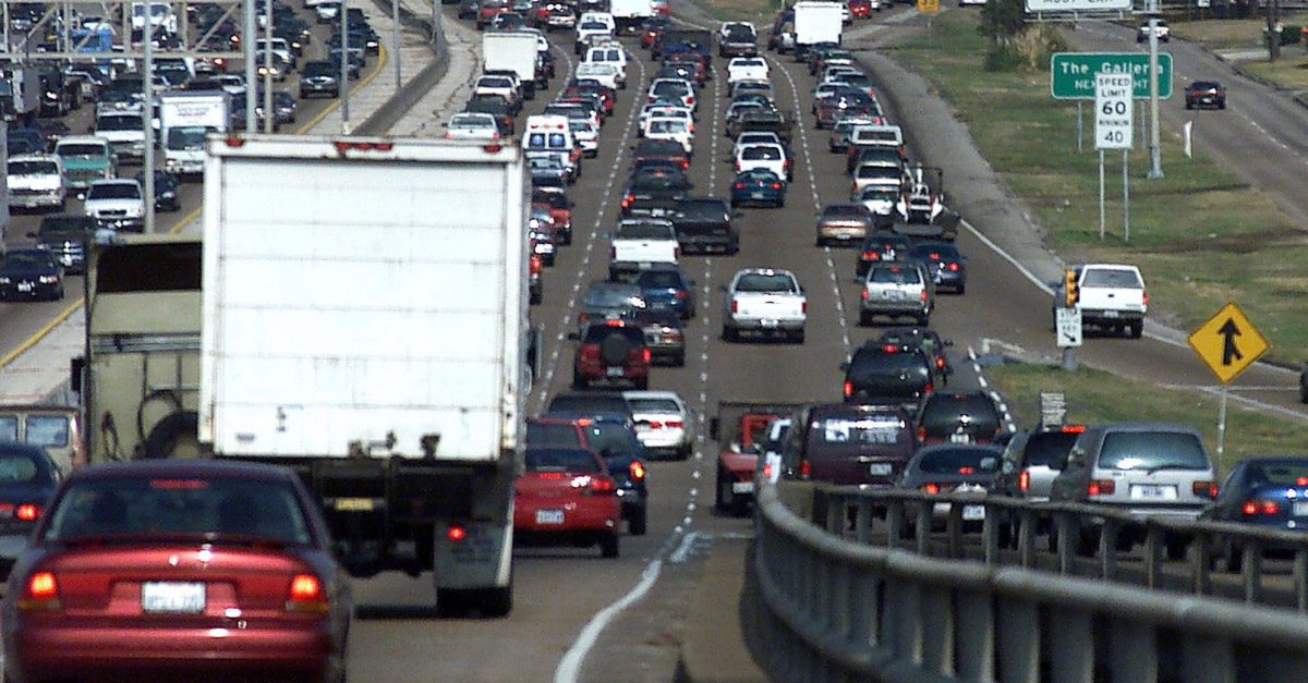 Causes of Houston freeway traffic jams  No. 327: Naked People