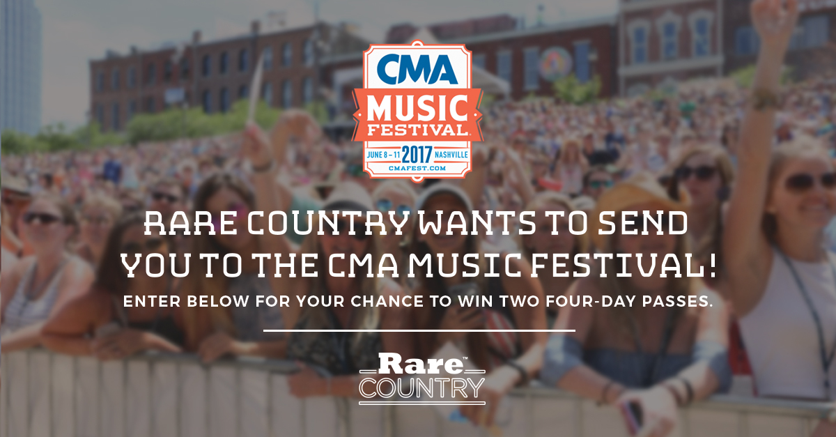Rare Country CMA Festival Giveaway