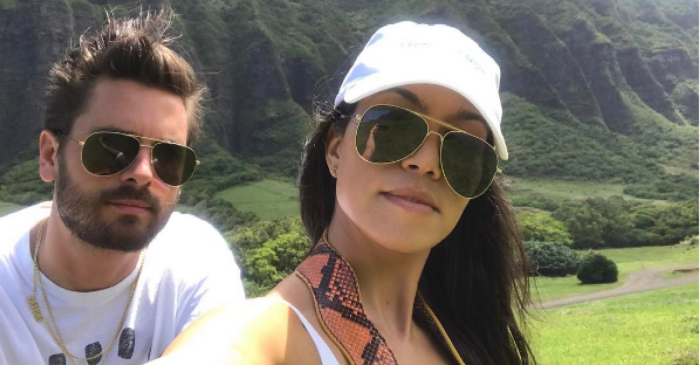 "Following a rough few months, Kourtney Kardashian and Scott Disick are ""back at it again with the co-parenting skills"""