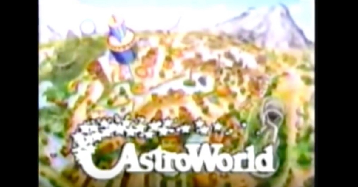 Watch these old school AstroWorld commercials and help the spirit of Houston's beloved theme park live on forever