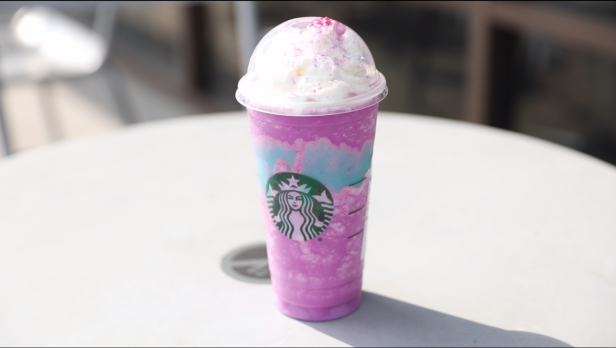 Starbucks' Unicorn Frappuccino has our taste buds confused