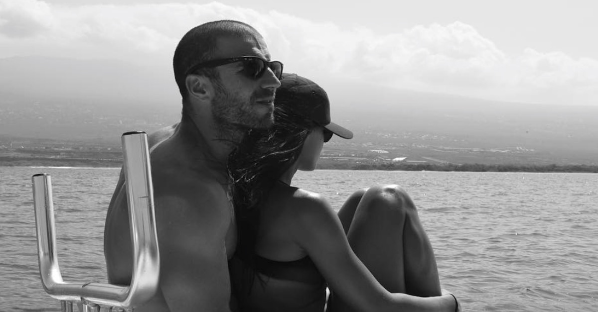Hunky Sam Hunt and his new bride make time for a romantic honeymoon