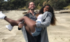 Serena Williams and Alex Ohanian