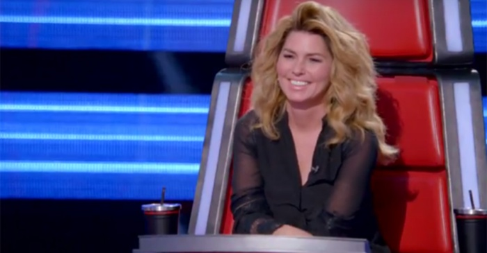 "Here's your first look at Shania Twain's role on ""The Voice"""