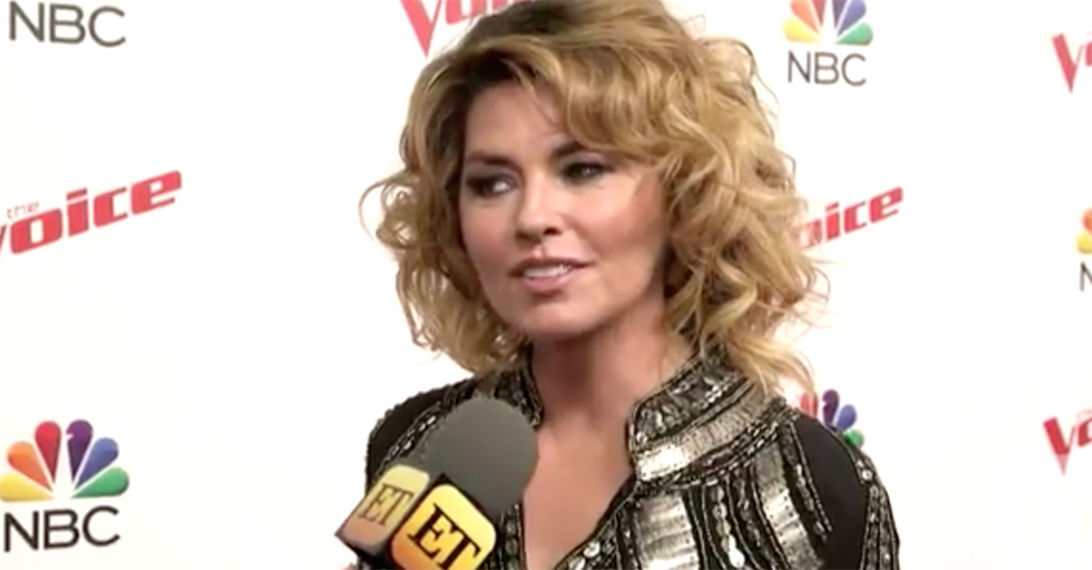 Shania Twain's big confession about Blake Shelton may surprise you