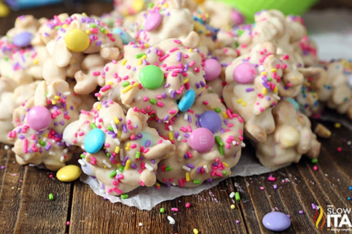 Let your slow cooker do the work for these Easter candies