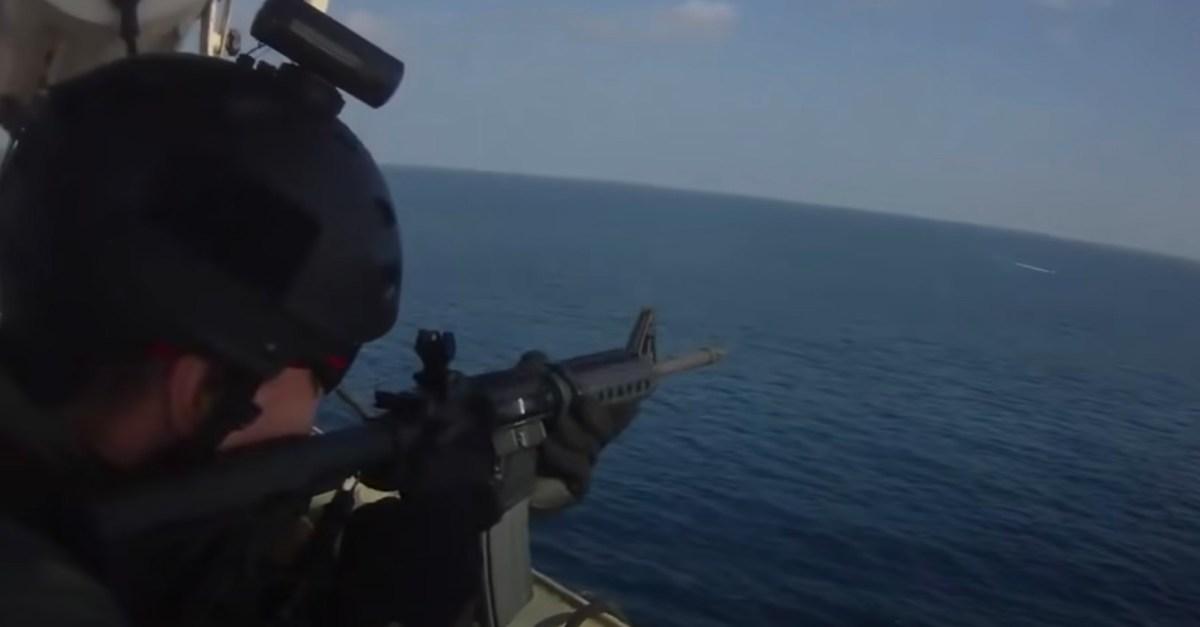 Somali Pirate Attack Video