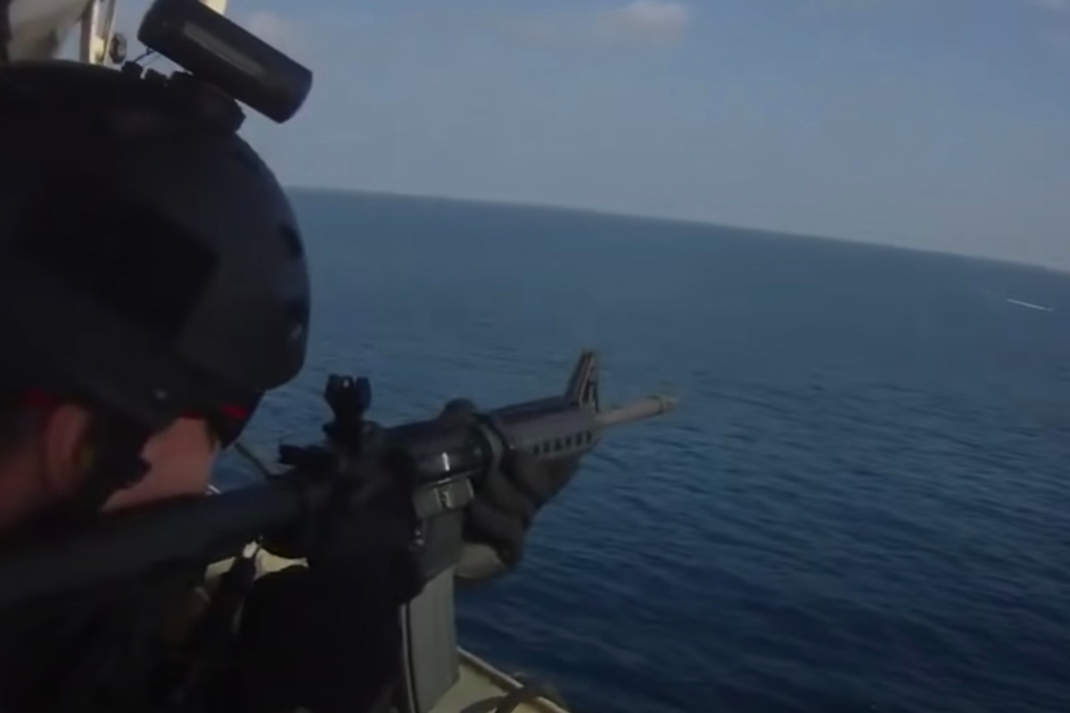 Somali Pirate Attack Video