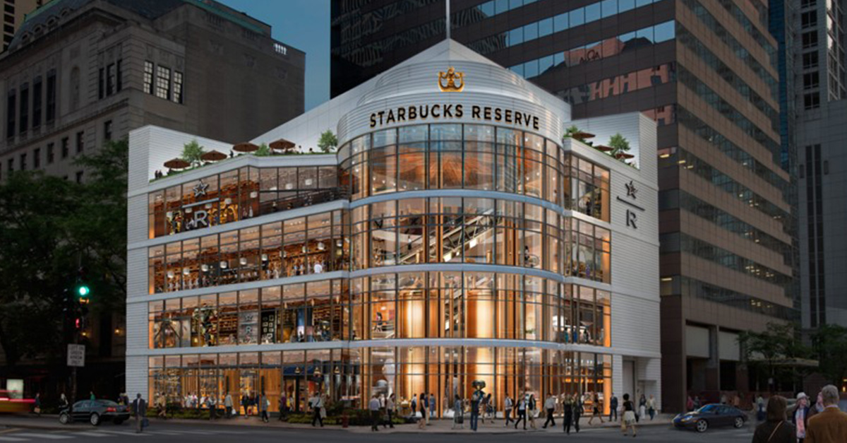 World's largest Starbucks to set up shop on Chicago's Magnificent Mile