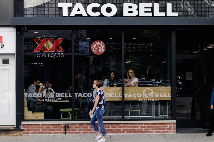 Taco Bell is serving free tacos today to celebrate the Warriors' win