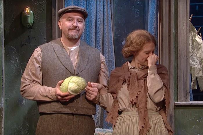 Louis C.K. & Kate McKinnon Break Character as 1913 Re-Enactors in this SNL Sketch