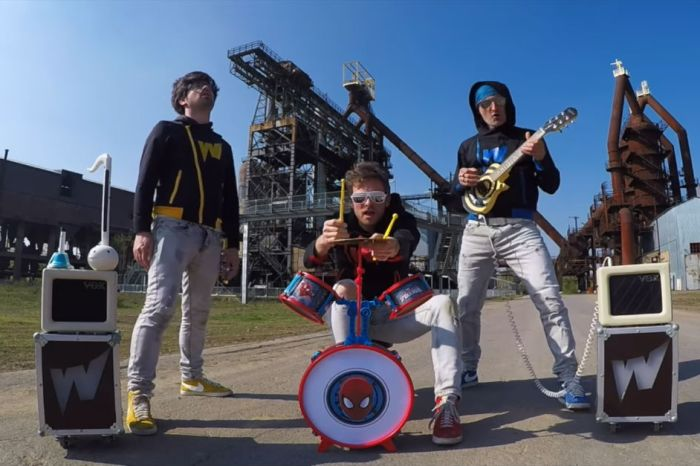 "These dudes played ""Killing In The Name Of"" on toy instruments — and it's almost as rocking as the original"