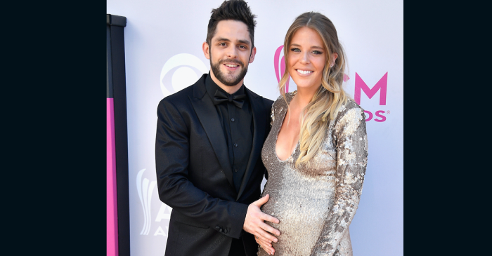 Prepare to swoon over Thomas Rhett's romantic gesture for his expecting wife, Lauren