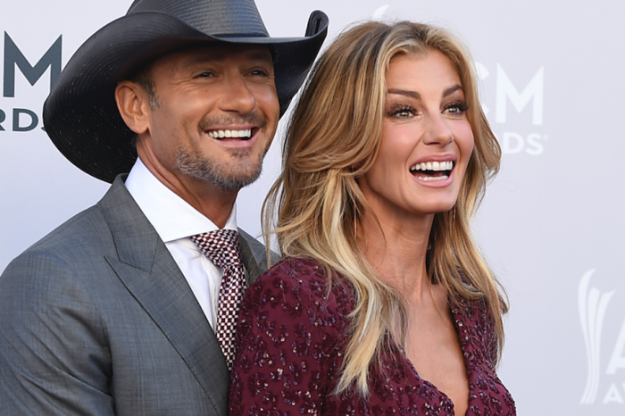 The crowd wasn't too happy with Faith Hill's comments at a recent concert